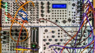 A board of Modular Synths